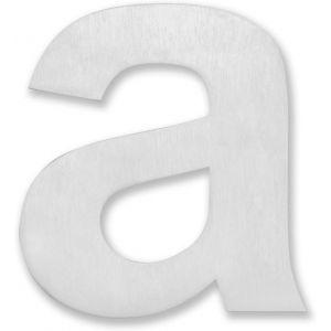 RVS 11cm Huisnummer toevoeging: Letter A