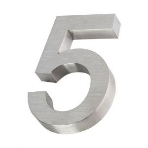 RVS 3D huisnummer 20cm